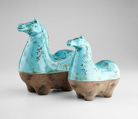 Cyan Designs - Small Cavallo Sculpture - 07392