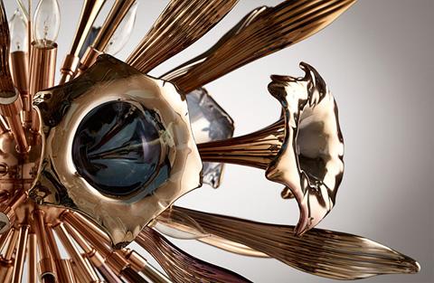 Cyan Designs - Small Twelve Light Remy Pendant - 07594