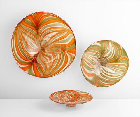 Cyan Designs - Medium Chika Plate - 07798