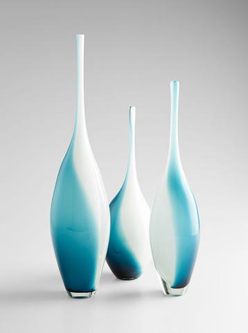 Cyan Designs - Small Swirly Vase - 07831