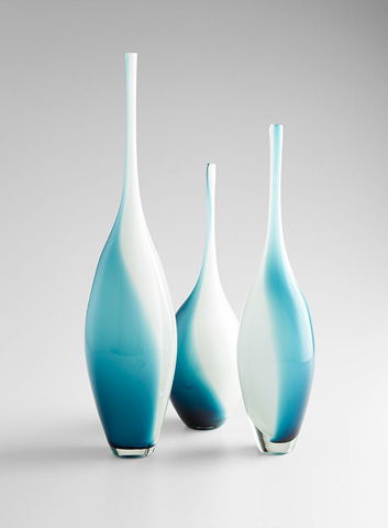 Cyan Designs - Large Swirly Vase - 07833