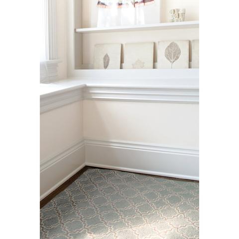 Dash & Albert Rug Company - Plain Tin Slate Wool Micro Hooked Rug - RDA115-58