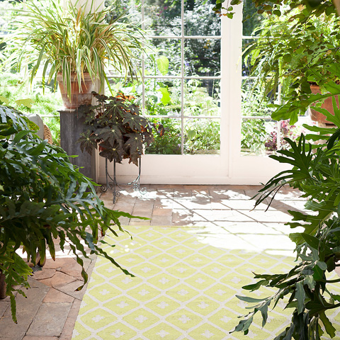 Dash & Albert Rug Company - Elizabeth Green Indoor/Outdoor Rug - RDB280-58