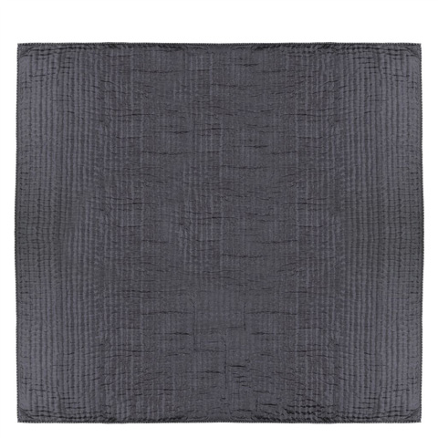 Designers Guild - Chenevard Silver & Slate Standard Quilt - QUDG0004