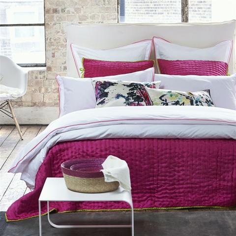Designers Guild - Astor Peony/Pink Queen Sham - BEDDG0771