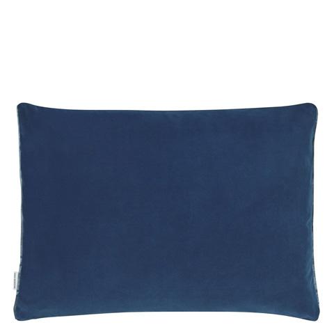 Designers Guild - Cassia Marine Throw Pillow - CCDG0442