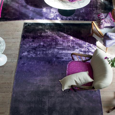 Designers Guild - Phipps Aubergine Standard Rug - DHRDG0043