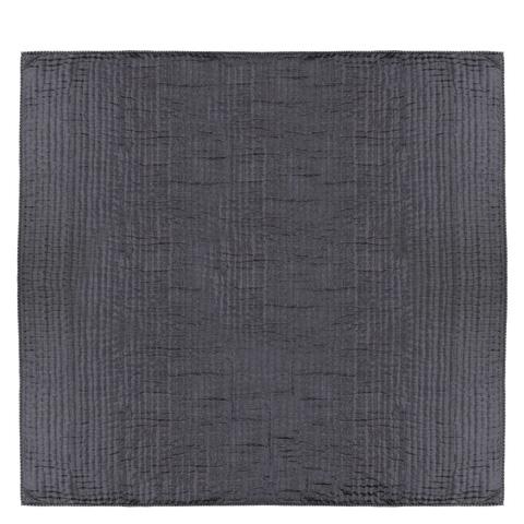Designers Guild - Chenevard Silver and Slate Large Quilt - QUDG0005