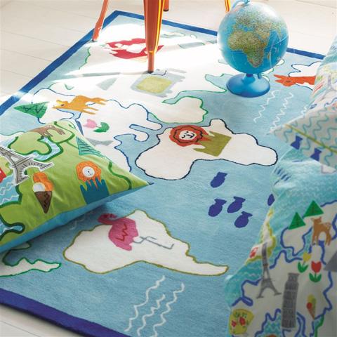 Designers Guild - Around The World Kids Rug - DHR172/01
