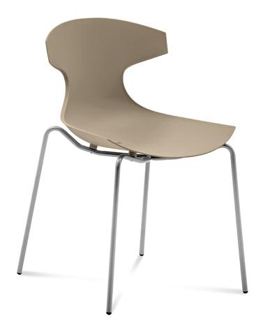 Domitalia - Echo Stacking Side Chair - ECHO.S.00F.AE.PSA