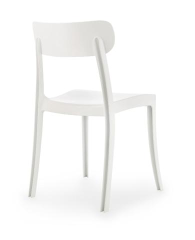 Domitalia - New Retro Stacking Chair - NEWRE.S.040.PC.BI