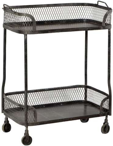 Dovetail Furniture - Darly Trolley - AL259