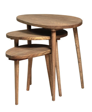 Dovetail Furniture - Hicok Nest Of Tables - DOV2328
