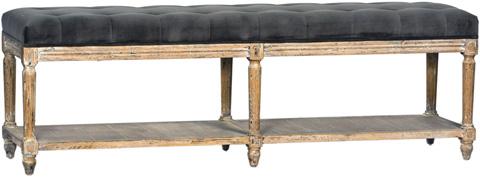 Dovetail Furniture - Evans Bench - DOV3208