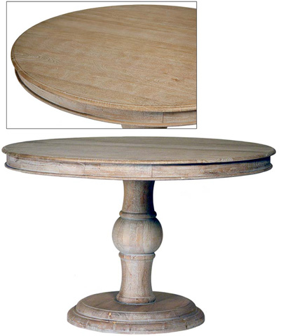 Dovetail Furniture - Arturo Dining Table in Sienna Grey - AF1983SG