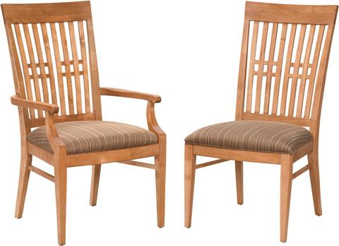 Drexel Heritage - Slat Back Side Chair - 925-721