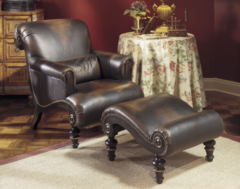 Drexel Heritage - Hathaway Leather Chair - L332-CH
