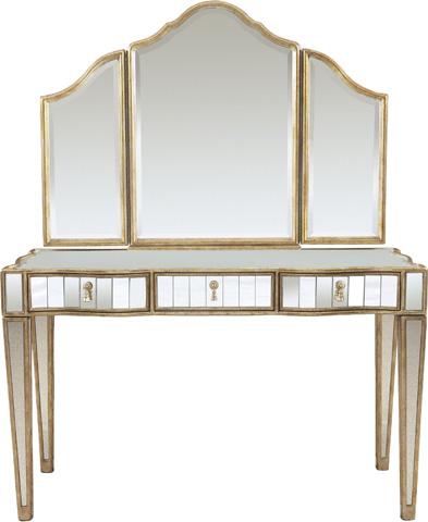 Drexel Heritage - Dylan Vanity and Delia Tri-Fold Mirror - 588-400/588-910