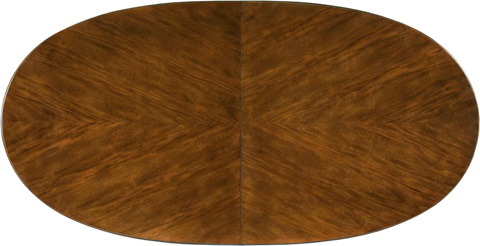 Drexel Heritage - Leade Oval Dining Table - 590-620B/590-620T