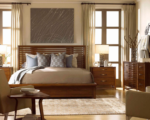 Drexel Heritage - Definition Panel Bed in King - 590-314