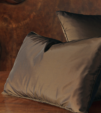 Eastern Accents - Freda Chocolate Decorative Pillow - DPA-294