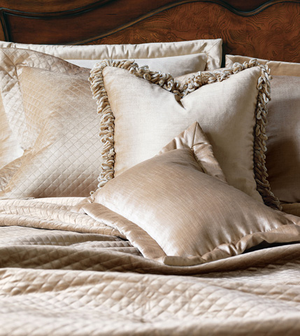 Eastern Accents - Lucerne Taupe Throw Pillow - LCR-156-01