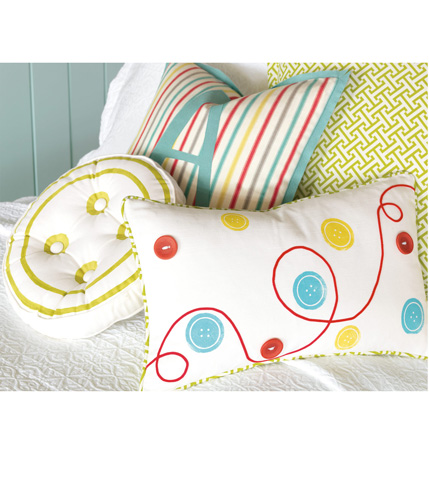 Eastern Accents - Afton Sherbert Pillow With Monogram - ARC-04