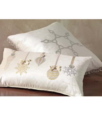Eastern Accents - Metallic Ornaments Pillow - ATE-200