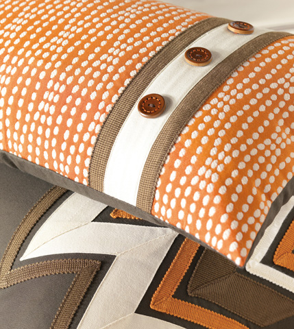 Eastern Accents - Holmes Mandarin Pillow With Insert - DAW-06