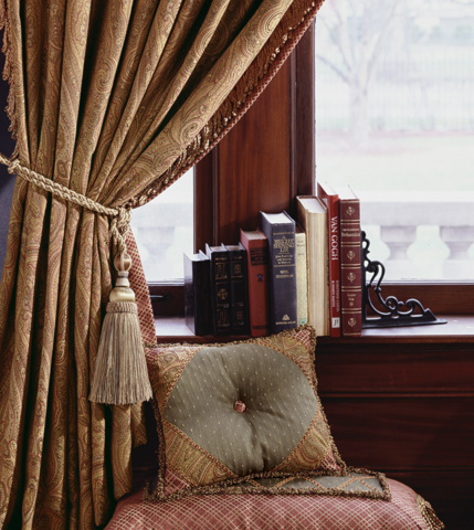 Eastern Accents - Quentin Olive Diamond Tufted Pillow - GLN-06