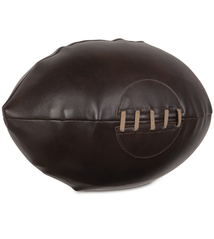 Eastern Accents - Hoffman Walnut Rugby Pillow - MCL-10