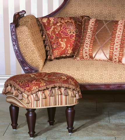 Eastern Accents - Toulon Pillow with Tassel Trim - TUL-05