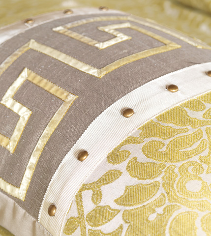 Eastern Accents - Reflection Taupe Insert Pillow - WAK-06