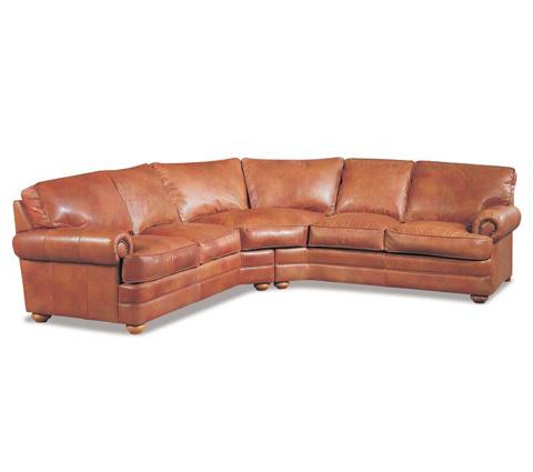 Elite Leather Company - Lenoir Sectional - 29074LS-73/29074AR-72
