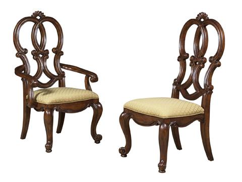 Fine Furniture Design - Splat Back Side Chair - 810-826