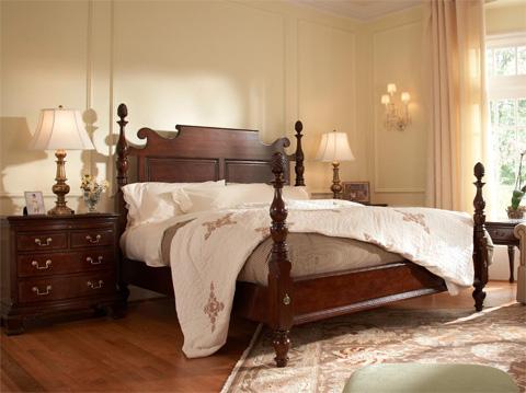 Fine Furniture Design - Roanoke 4 Drawer Night Table - 1020-100