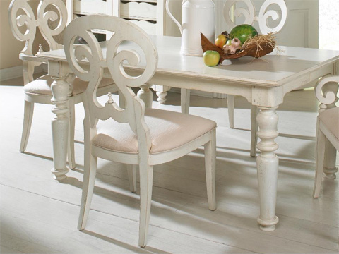 Image of Summer Home White Side Chair