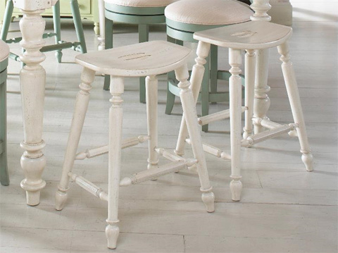 Image of Saddle Counter Stool