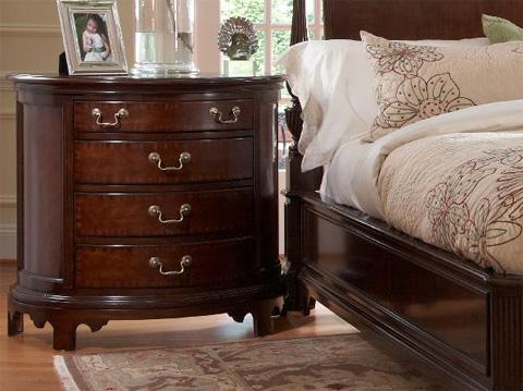 Fine Furniture Design - Norfolk Demilune Chest - 1020-104