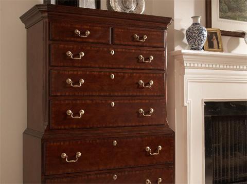 Fine Furniture Design - Hampton Chest on Chest - 1020-112