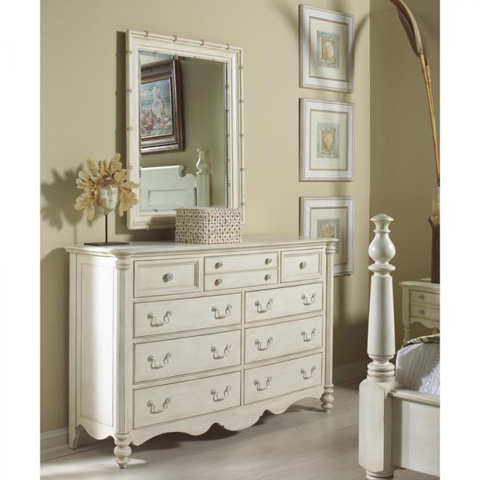 Fine Furniture Design - Bamboo Mirror - 1051-152