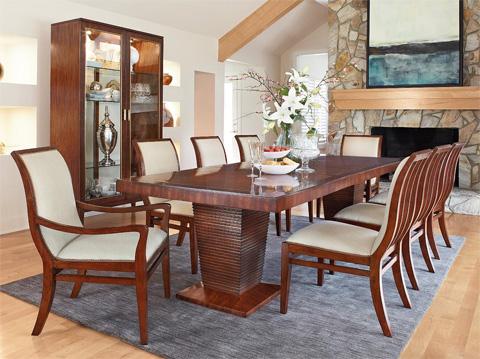 Fine Furniture Design & Marketing - Boulevard Dining Room Set - 1360DINING