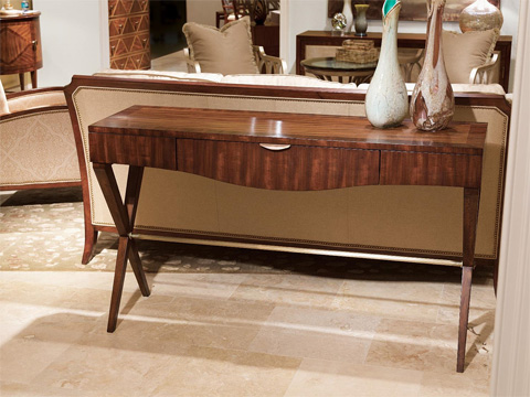 Fine Furniture Design - Console with Crossed Legs - 1360-942