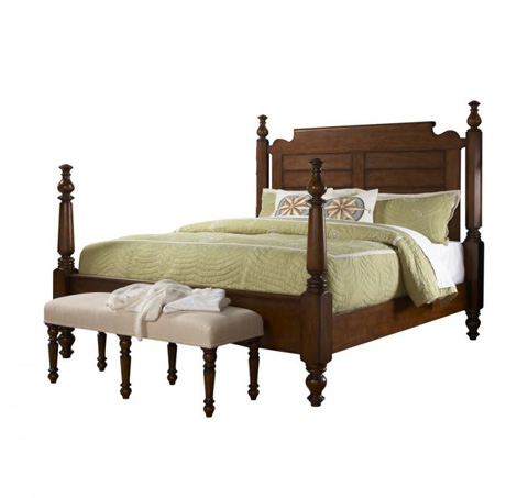 Fine Furniture Design - Queen Poster Bed - 1050-751/752/753