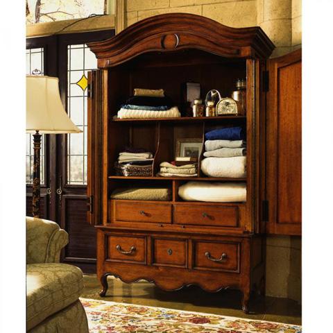 Fine Furniture Design - Grand Cru Entertainment Cabinet - 320-134/133