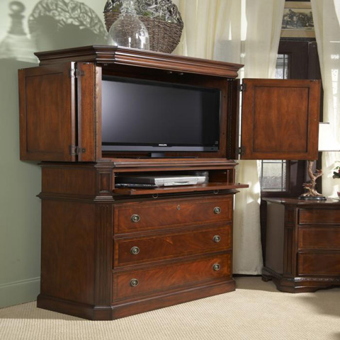 Fine Furniture Design - Armoire with Entertainment Center - 920-132/131