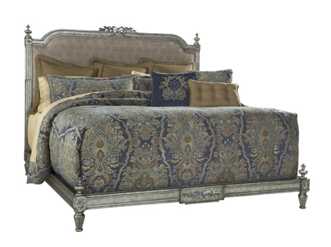 Fine Furniture Design - Boulevard King Bed Iron Gate - 1341-467/468/469
