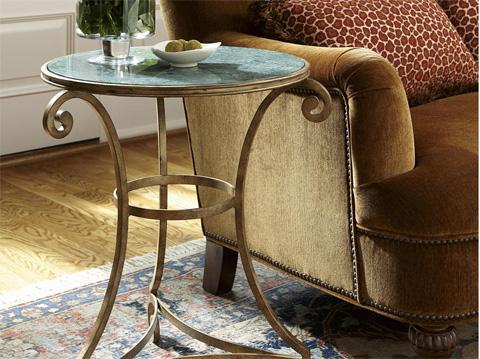 Fine Furniture Design & Marketing - Metal End Table - 1348-983