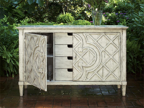 Image of Jardin Lattice Console