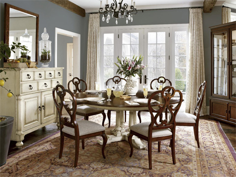 Fine Furniture Design - Scroll Side Chair - 1370-824
